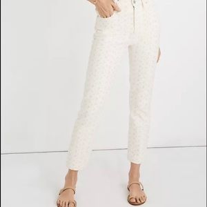 Madewell The Perfect Vintage Jean: Eyelet